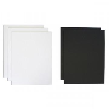 Cartón Pluma 5mm A4 negro Grafoplas