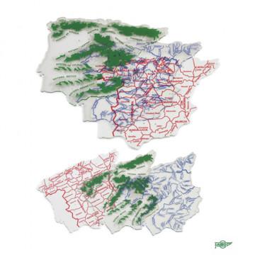 PLANTILLA MAPA D' ESPANYA VARIS              (ABO)