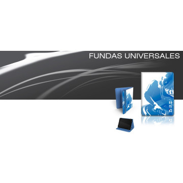 "FUNDA TABLET UNIVERSAL  7"" A ZIRON DJ BLAU"