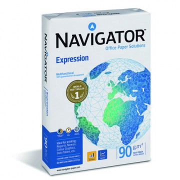 PAPER DIN A4  90 GR. (500u) NAVIGATOR