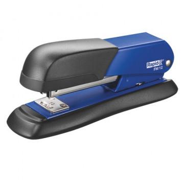 Grapadora sobremesa metálica FM12 azul Rapid