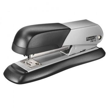 Grapadora sobremesa metálica FM12 plata Rapid
