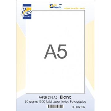 PAPER DIN A5  80 GR. (500u)