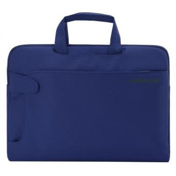 Maletín portátil y documentos azul Urban Office Box