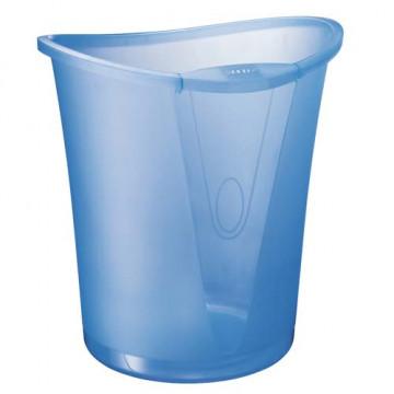 Papelera plástico 18 litros azul Allura Leitz