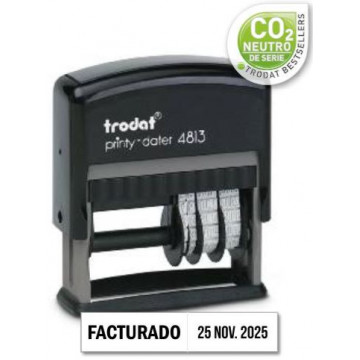 PRINTY DATADOR PLACA (026x009 + DATA DRETA) 4813