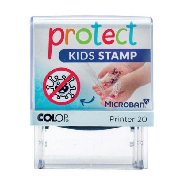 SEGELL COVID PER MANS NETES COLOP PRINTER 20 PROTECT KIDS