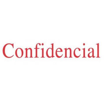 "SEGELL TRODAT F ""CONFIDENCIAL""(4911)"