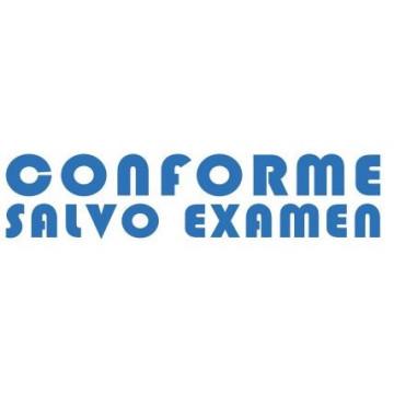 "SEGELL TRODAT F ""CONFORME SALVO EXAMEN""(4911)"