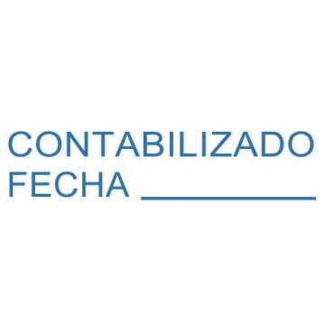 "SEGELL TRODAT F ""CONTABILIZADO/FECHA""(4911)"