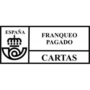 "SEGELL TRODAT F ""CORREOS FRANQUEO PAGADO""(4913)"