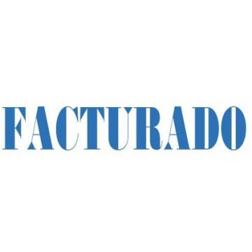 """SEGELL TRODAT F """"FACTURADO""""(4911)"""