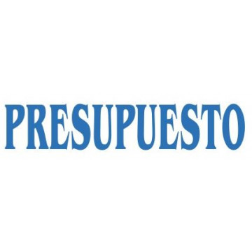"SEGELL TRODAT F ""PRESUPUESTO""(4911)"