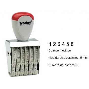 NUMERADOR 6 BANDES 5 mm.