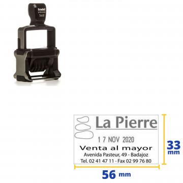 NUMERADOR DATADOR TRODAT 55460PL (4mm) 53x33