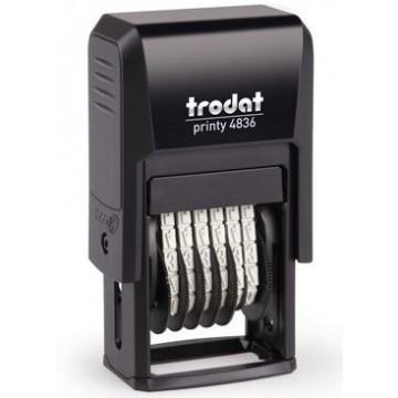 NUMERADOR TRODAT 4836 (6 bandes 3,8mm)