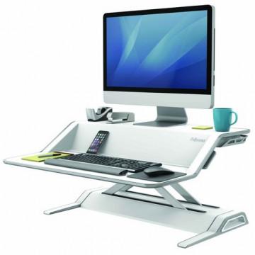 Estación de trabajo Sit-Stand Lotus™ blanco Fellowes