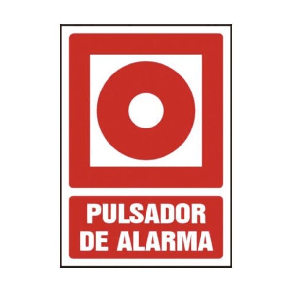 """PLACA A4 """"PULSADOR DE ALARMA"""""""