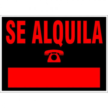 "RETOL 350x250 ""SE ALQUILA"" ARC6168NE"