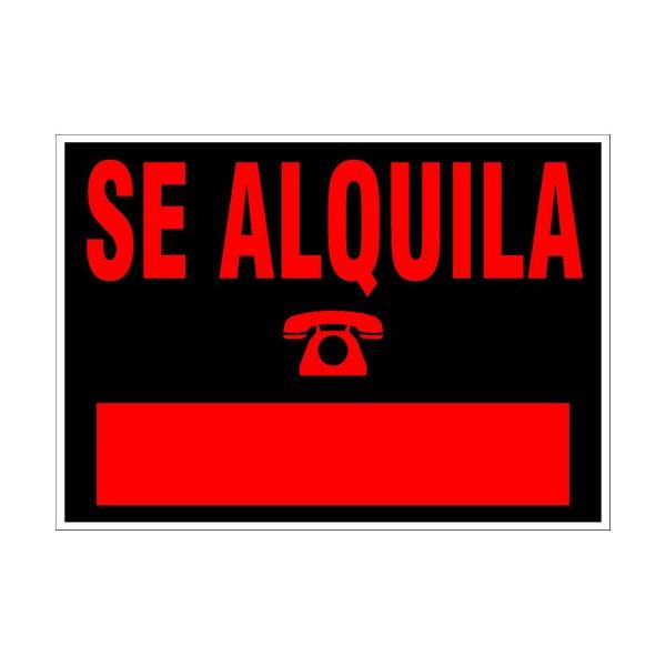 "RETOL 500x240 ""SE ALQUILA"" ARC6163NE"