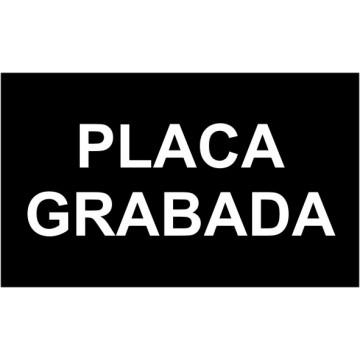 PLACA F LASER MAX 0,8 mm (BLANC/NEGRE) 600x300