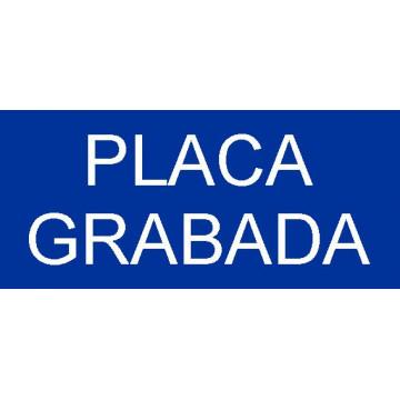 PLACA F LASER MAX 1,6 mm (BLANC/BLAU)