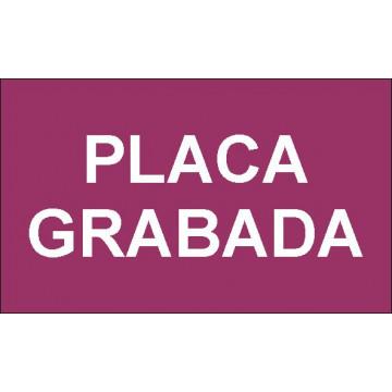PLACA F LASER MAX 1,6 mm (BLANC/BURDEOS)