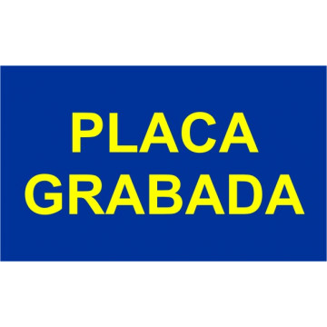 PLACA F LASER MAX 1,6 mm (GROC/BLAU)