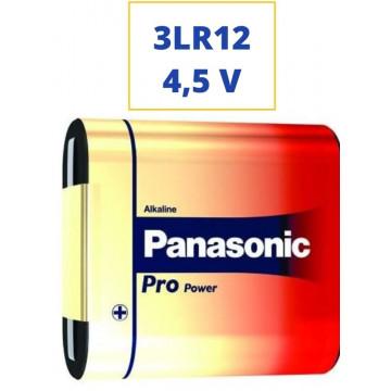 PILA PANASONIC ALKALINA 3LR12 4,5V. PETACA
