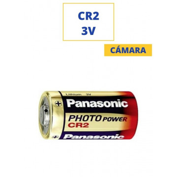 PILA PANASONIC ALKALINA CR2 3V. (CAMARA)
