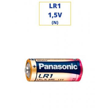 PILA PANASONIC ALKALINA LR1 1,5V. (N)