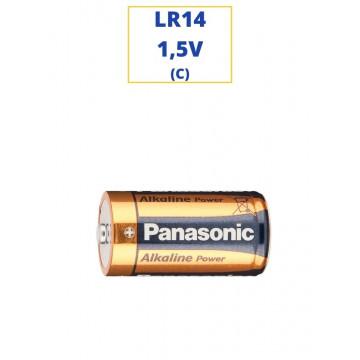 PILA PANASONIC ALKALINA LR14 1,5V. (C)