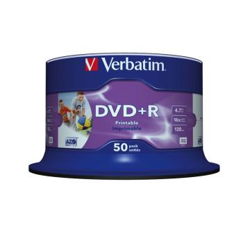 VERBATIM DVD +R 4.7GB 16X JEWEL CASE 5 ADVANCED AZ