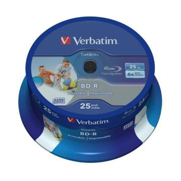 DVD BD-R BLU-RAY 25 GB (BOBINA 10u.) PRINTABLE