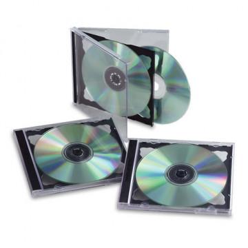CAIXA BUIDA CD'S (CAP. 2 CD'S)