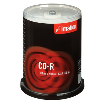 CD-R 700MB 80min 52x bobina 100 unidades