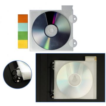 FUNDA CD'S INDIVIDUAL FIBRA PESTANYA 2 TAL. (12u.)         (ABO)