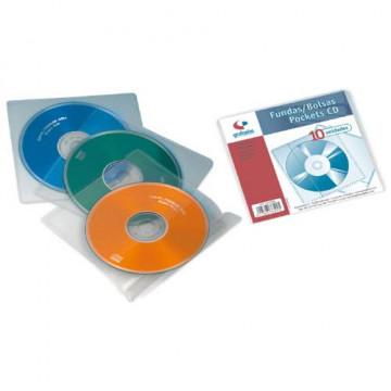 FUNDA CD'S INDIVIDUAL PPL (10u)