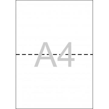 PAPER DIN A4 BLANC TREPAT A5 80gr. (500fulls)