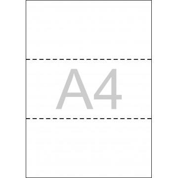PAPER DIN A4 BLANC TREPAT REBUT 80gr. (500fulls)