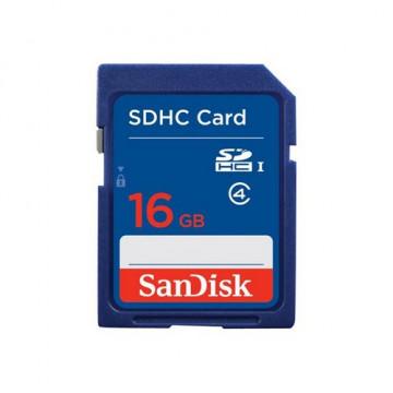 Tarjeta memoria secure digital 16 GB. SANDISK