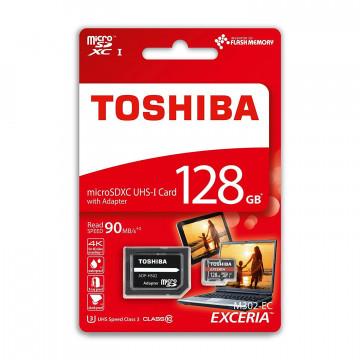 MEMORIA TARGETA MICRO SD 128GB 100MB/s