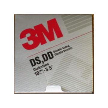 "DISKETTE 3"" 1/2 2D FMT 3M (10u)"